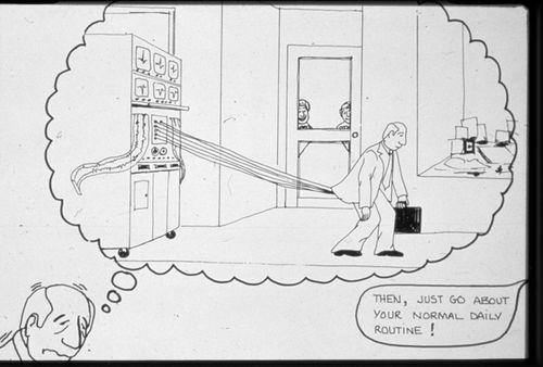 Holter Monitor cartoon