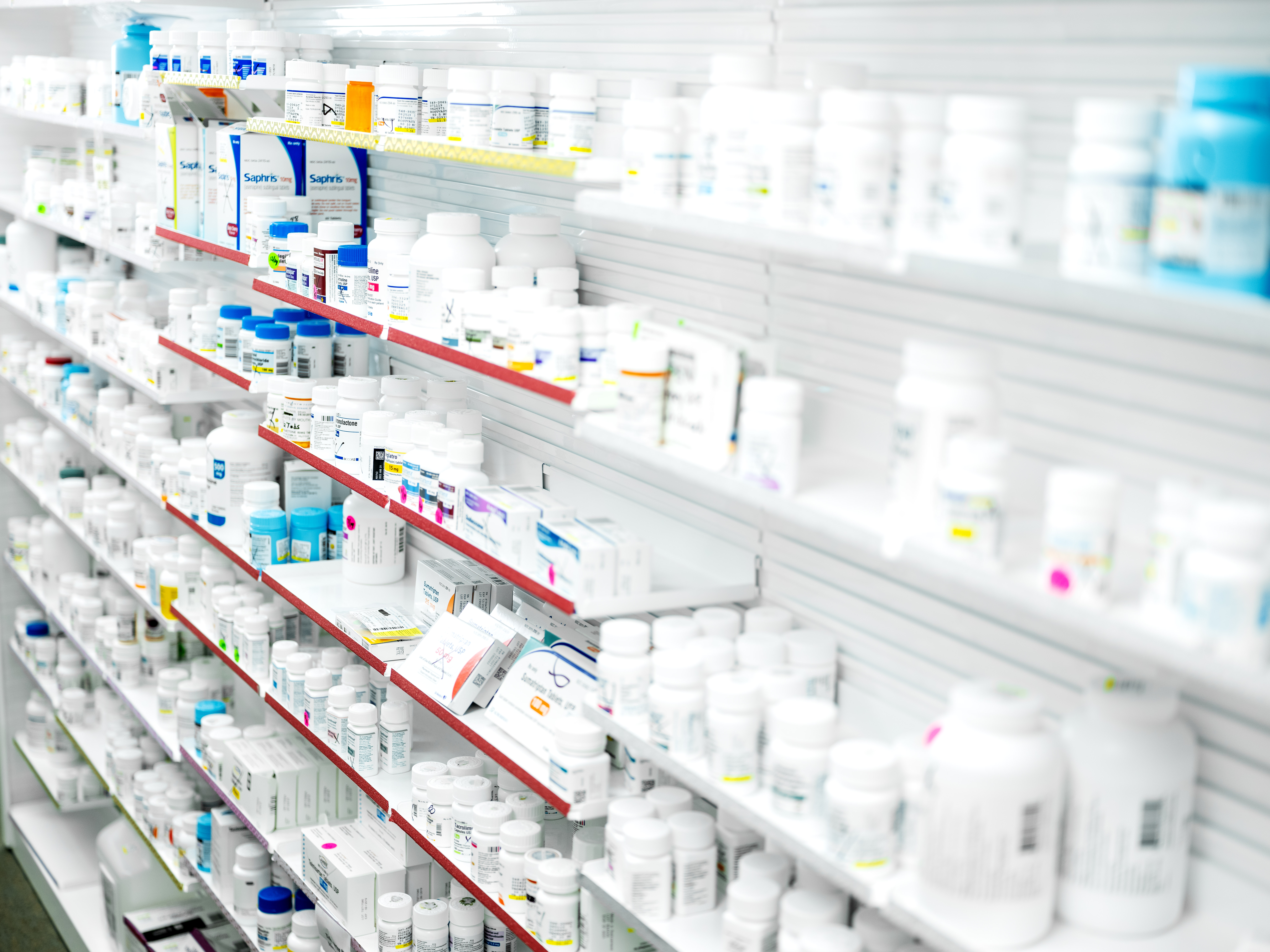 pharmacy technician's in hospitals