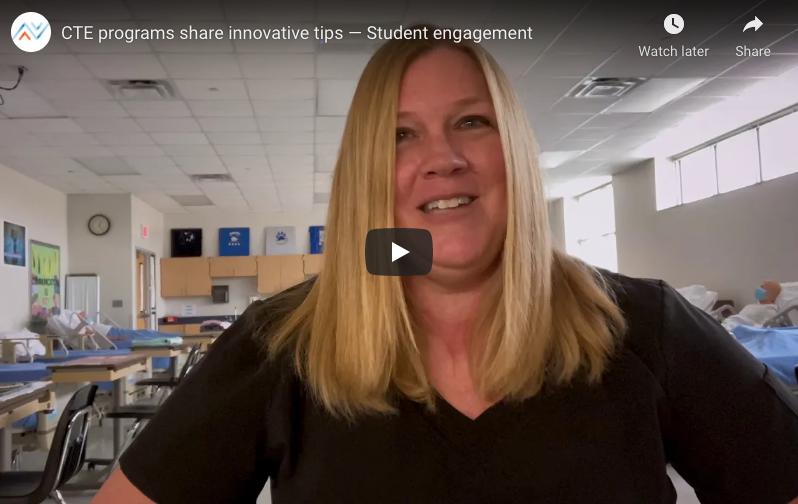 CTE programs share innovative tips — Student engagement