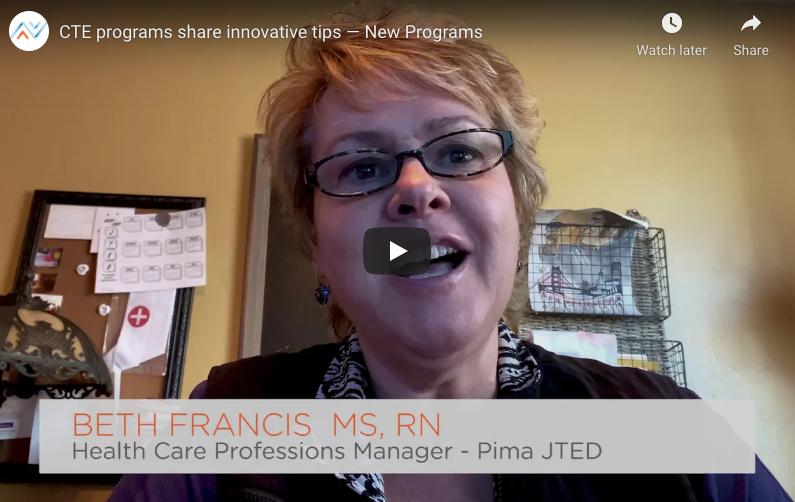 CTE programs share innovative tips — New Programs