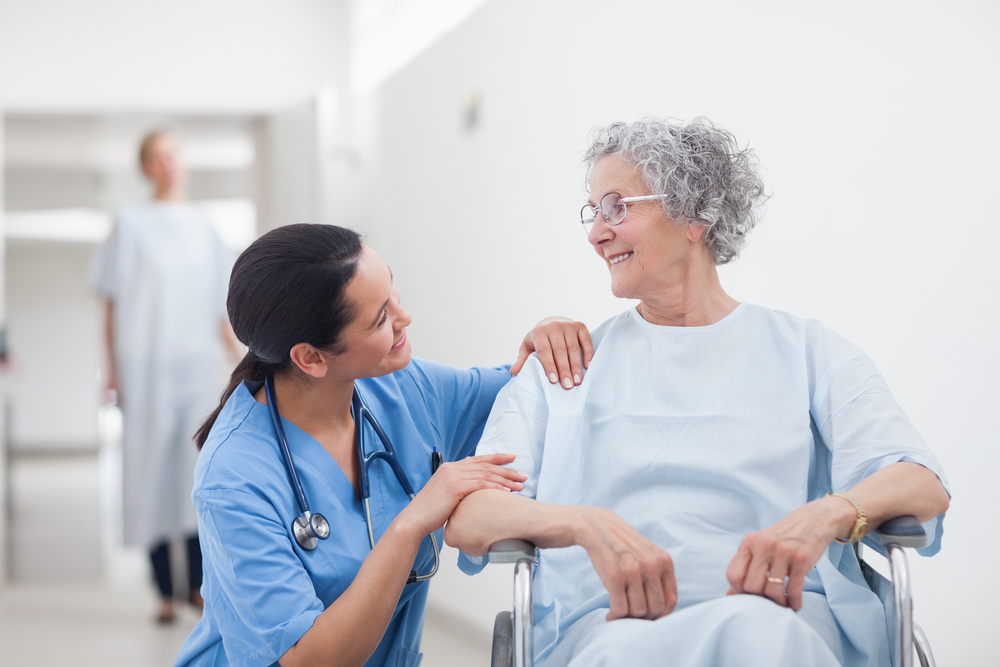 Highly skilled care by patient care technicians for elderly patients