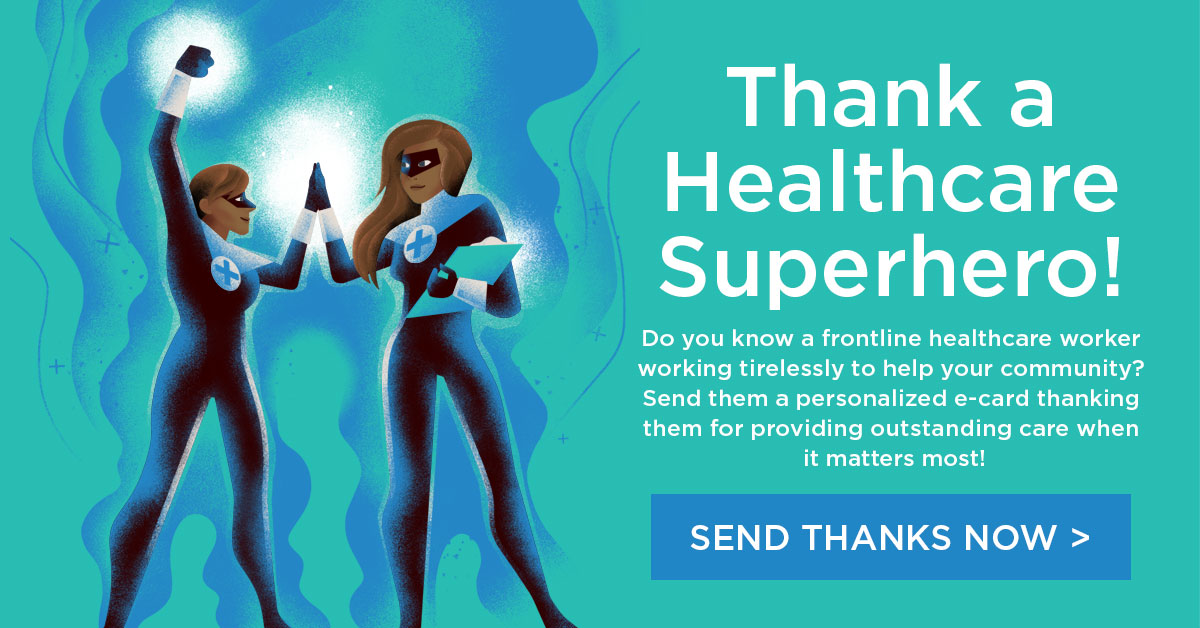 Thank a Healthcare Superhero