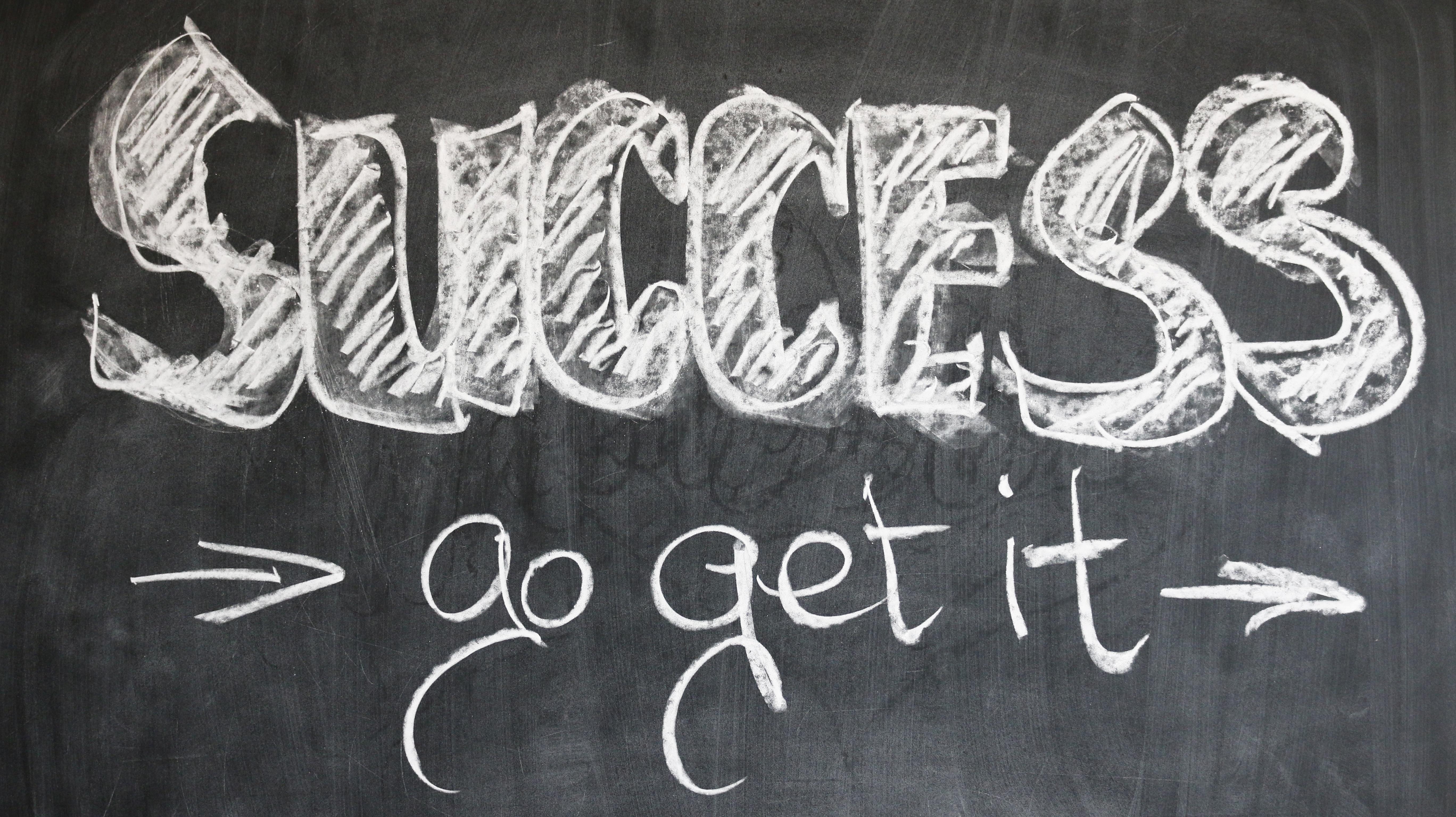 success-chalkboard